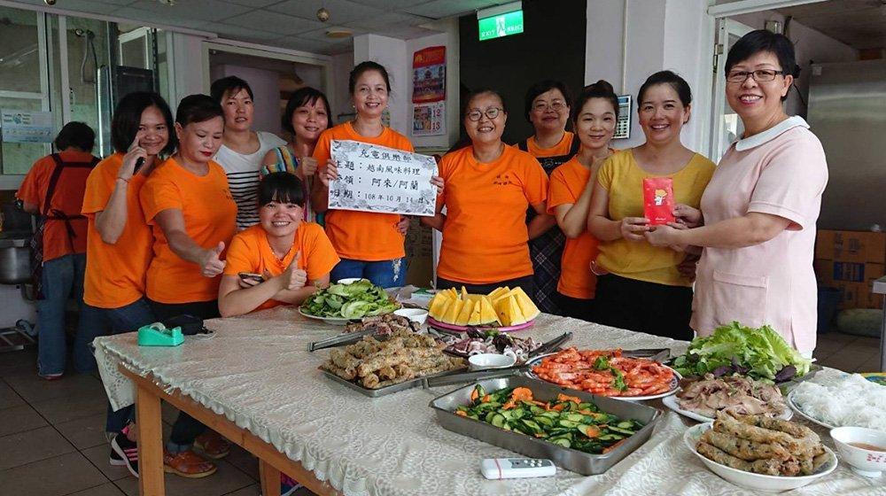光彩院區-想家的滋味~越南美味料理 超棒~
